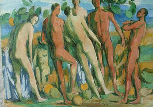 Fränkischer Künstler Fritz Griebel